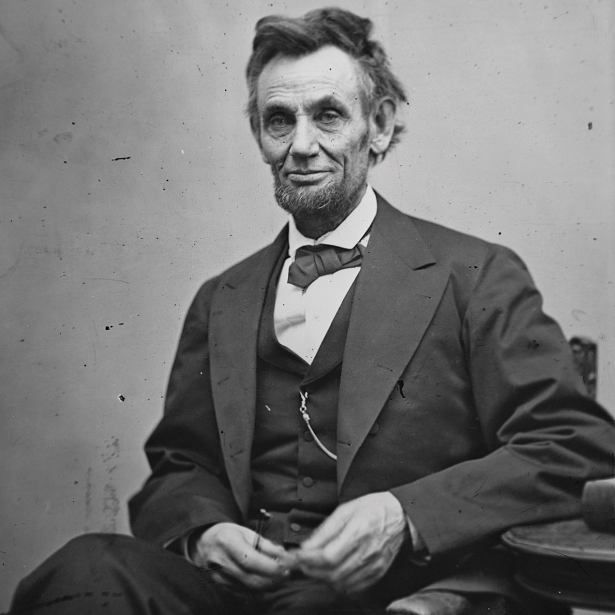 Abraham Lincoln as he really was.
