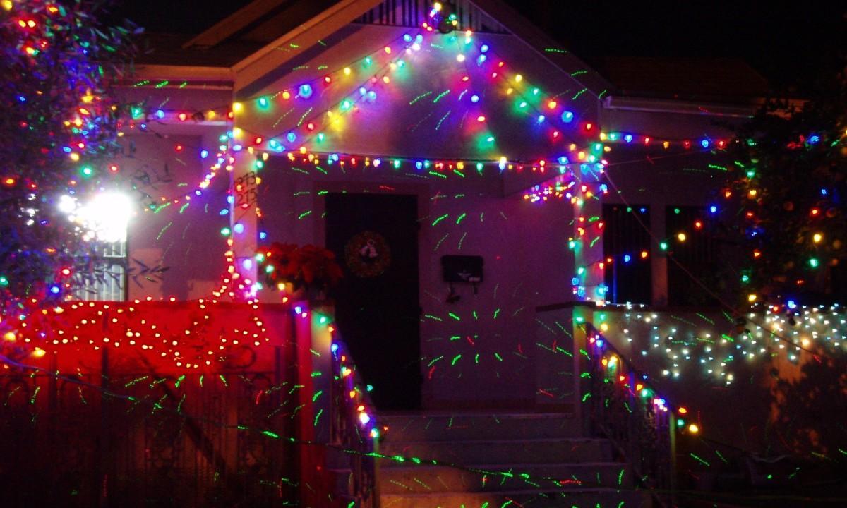 Christmas lights came originally from fireflies.