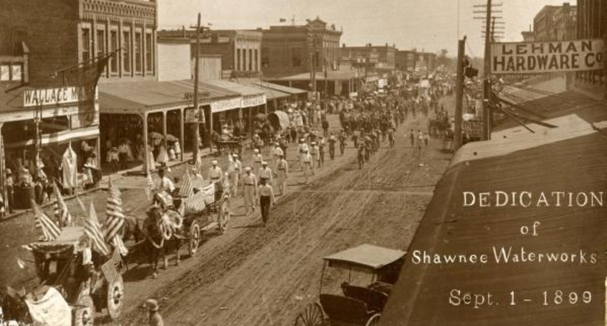 Dedication of Shawnee Waterworks, September 1, 1899