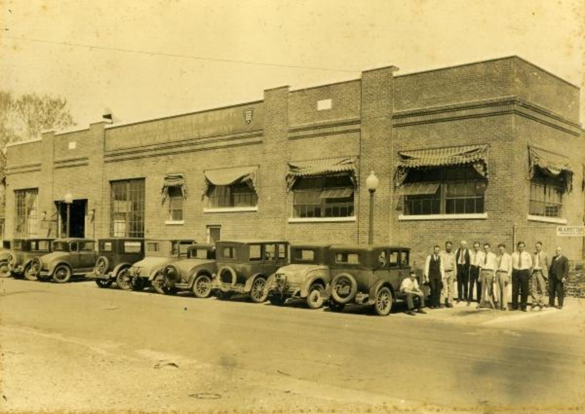 Garage and Stores department, Shawnee District, O. G. and E.