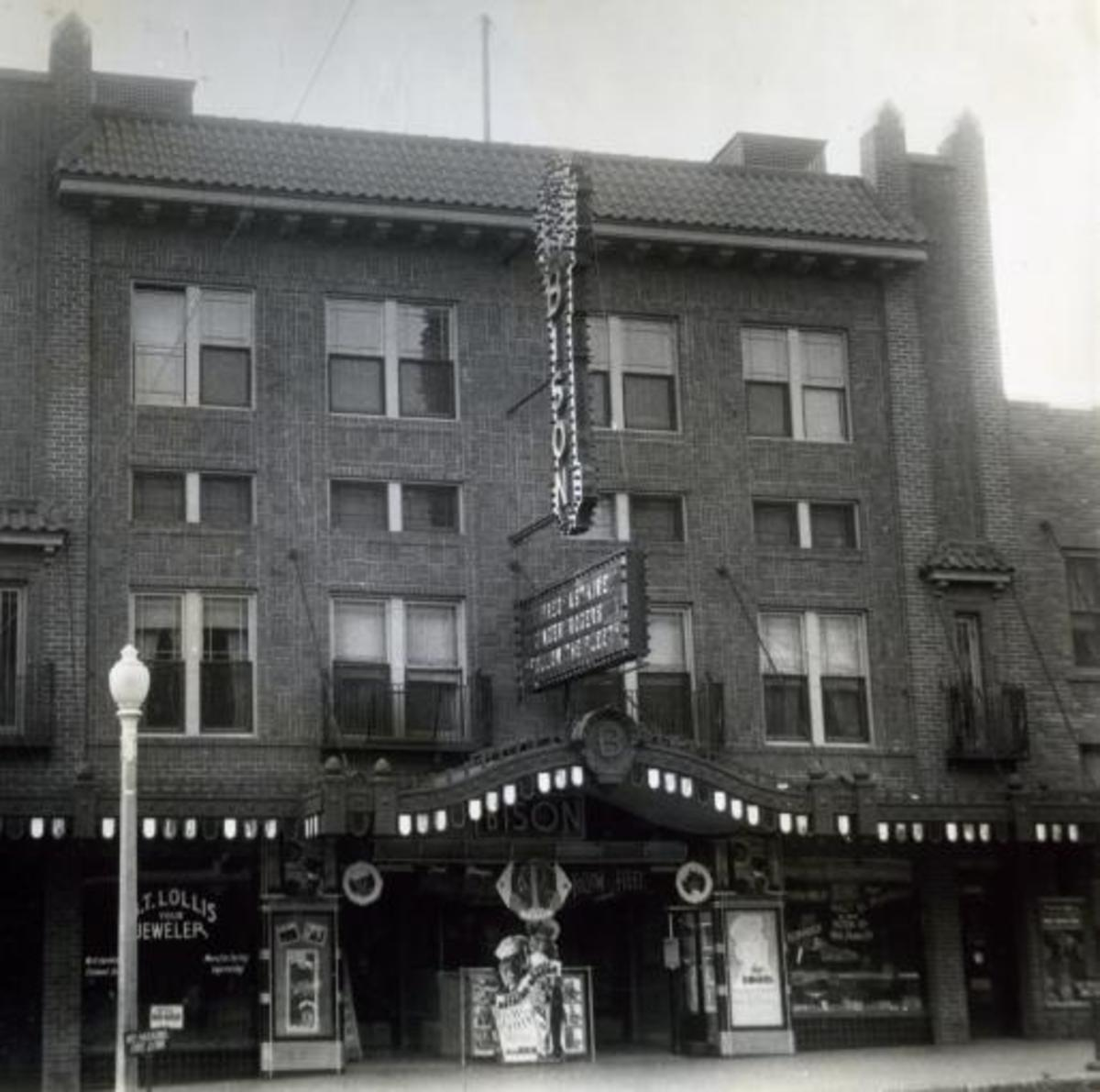 Bison Theater, 1936