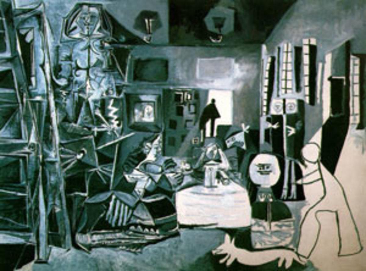 Pablo Picasso's rendition of Las Meninas.