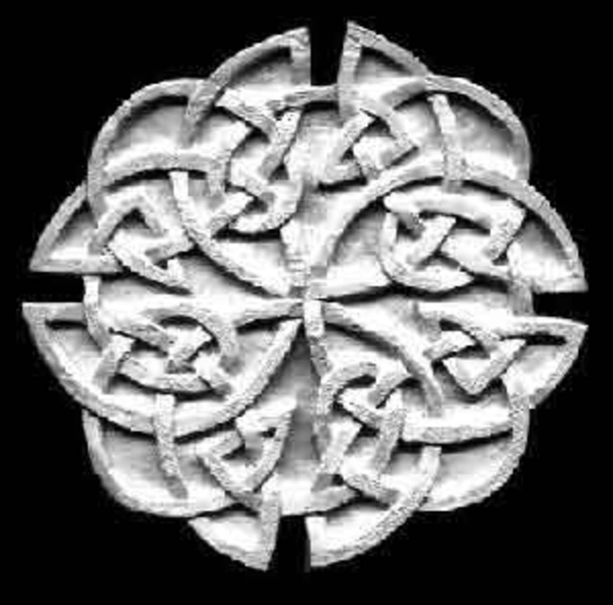 Celtic knotwork designs have inspired the creation of much modern jewelry.