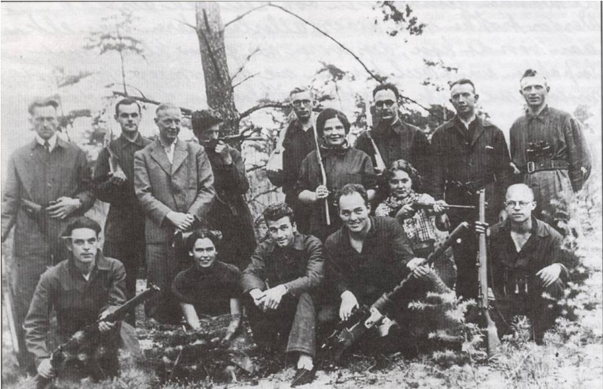 Dutch resistance group.