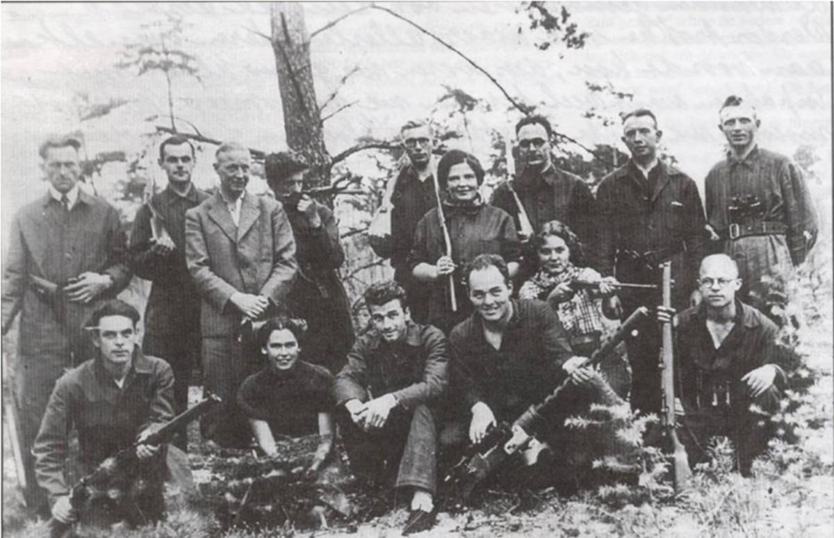 Dutch resistance group.