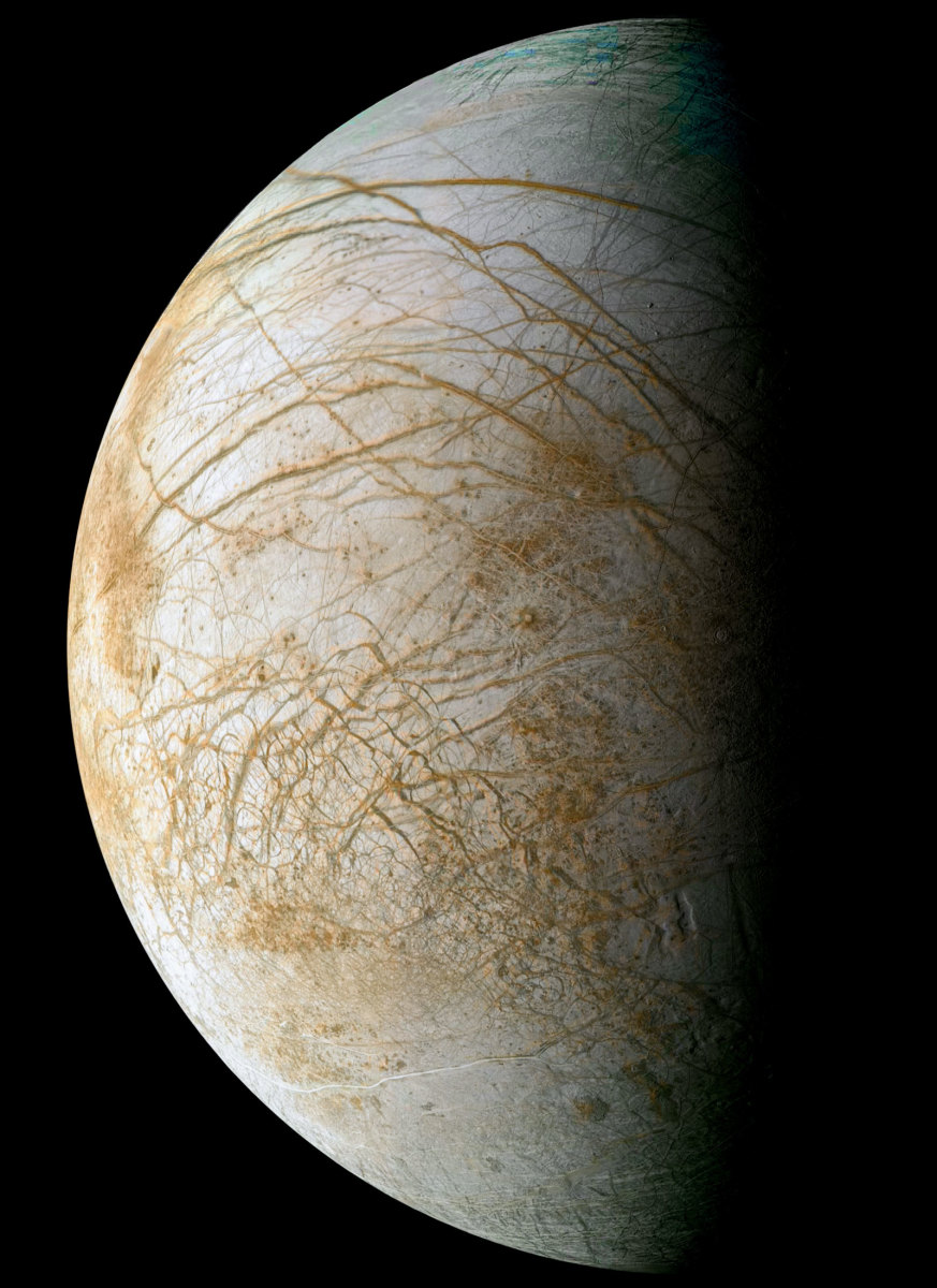 Beautiful Europa may harbor a precious secret in the watery depths beneath its icy skin.