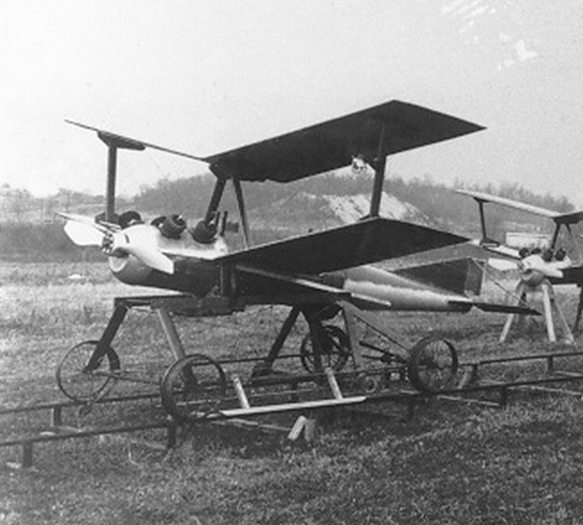 World War One: Kettering Bug, considered to be the first cruise missile.