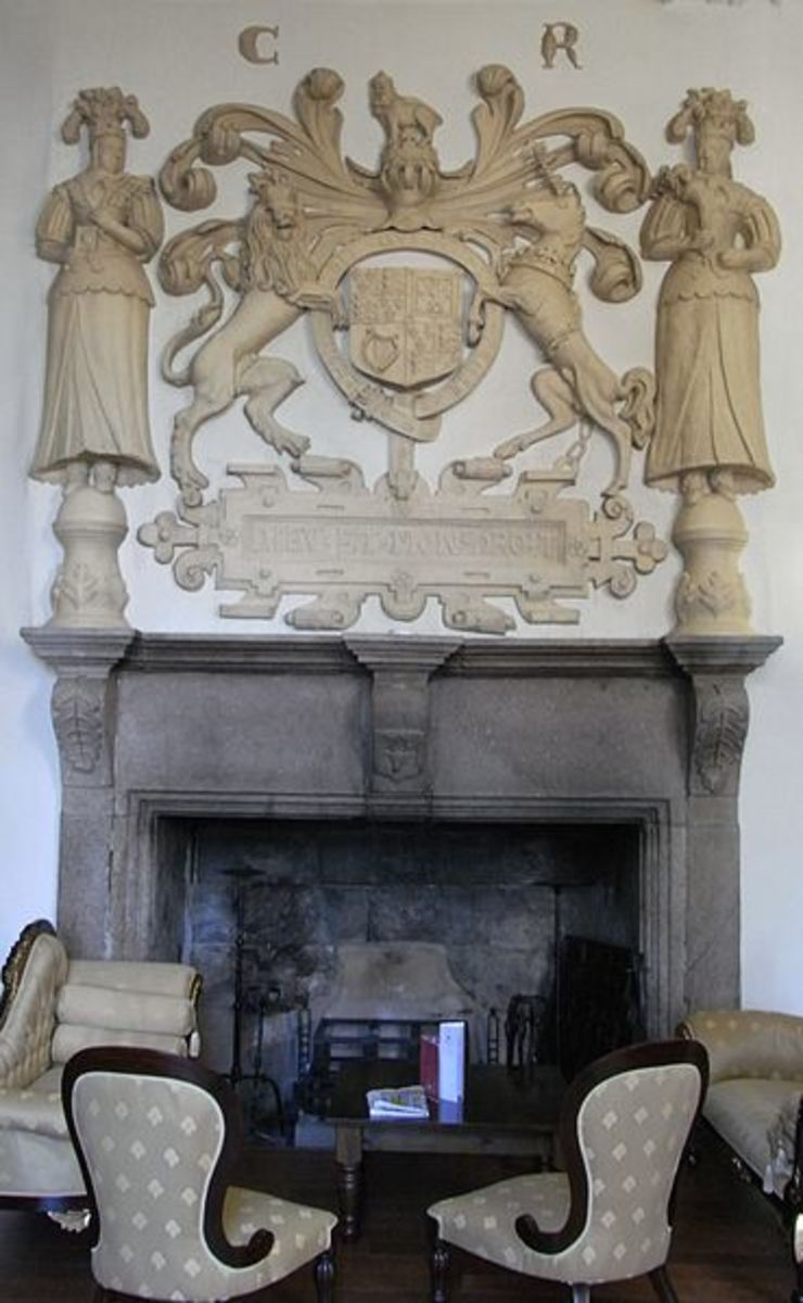 The old wood fireplaces and chimney flues were large enough for a man, or at least an older boy, to clean.
