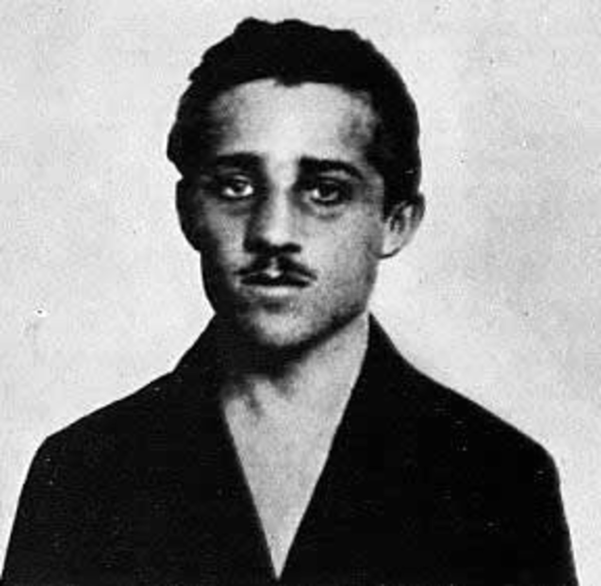 WW1. Gavrilo Princip. Shot the Archduke and his wife.