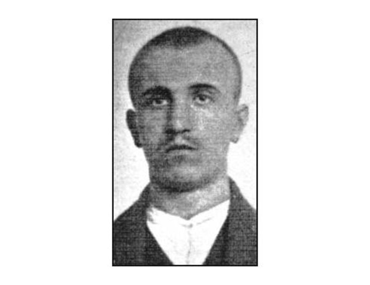 WW1. Danilo Ilich, who ran the assassins. Circa 1910s.