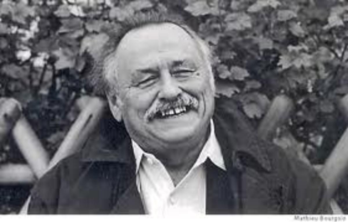 Author Jim Harrison