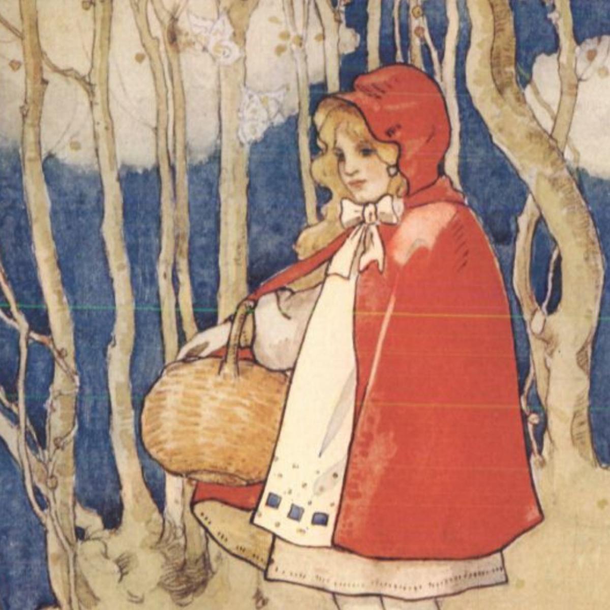 A vintage illustration of our heroine.