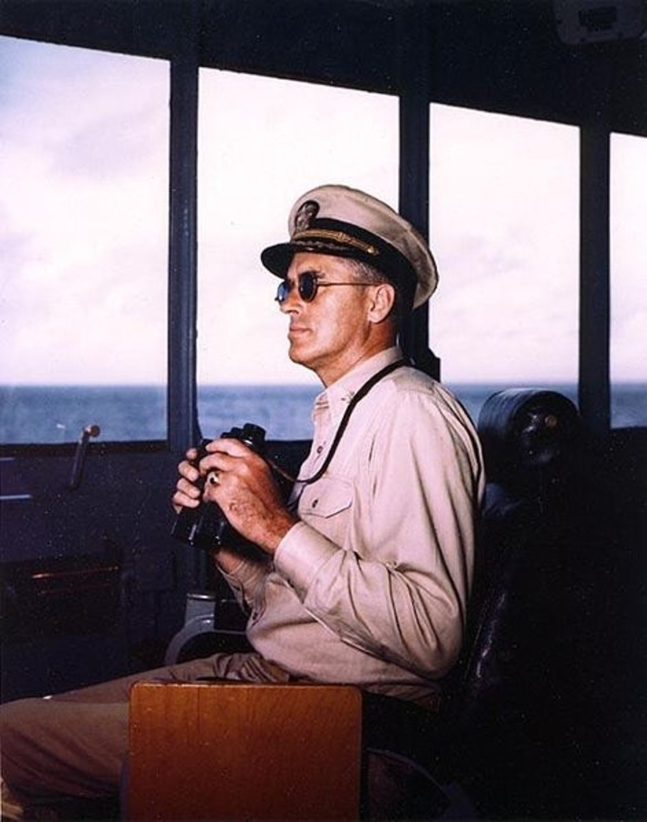 WW2: Captain William M. Callaghan.