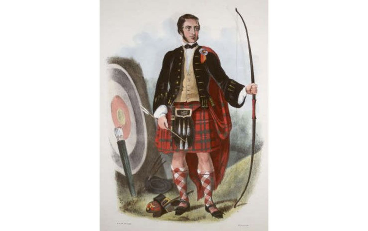 By Robert Ronald McIan (1803-1856). (The Clans of the Scottish Highlands.)