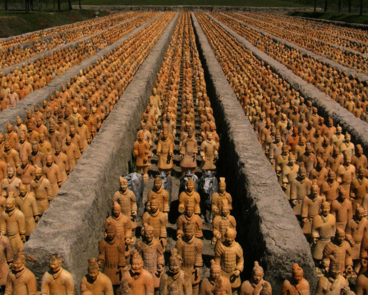 The Terracotta Army (replica)