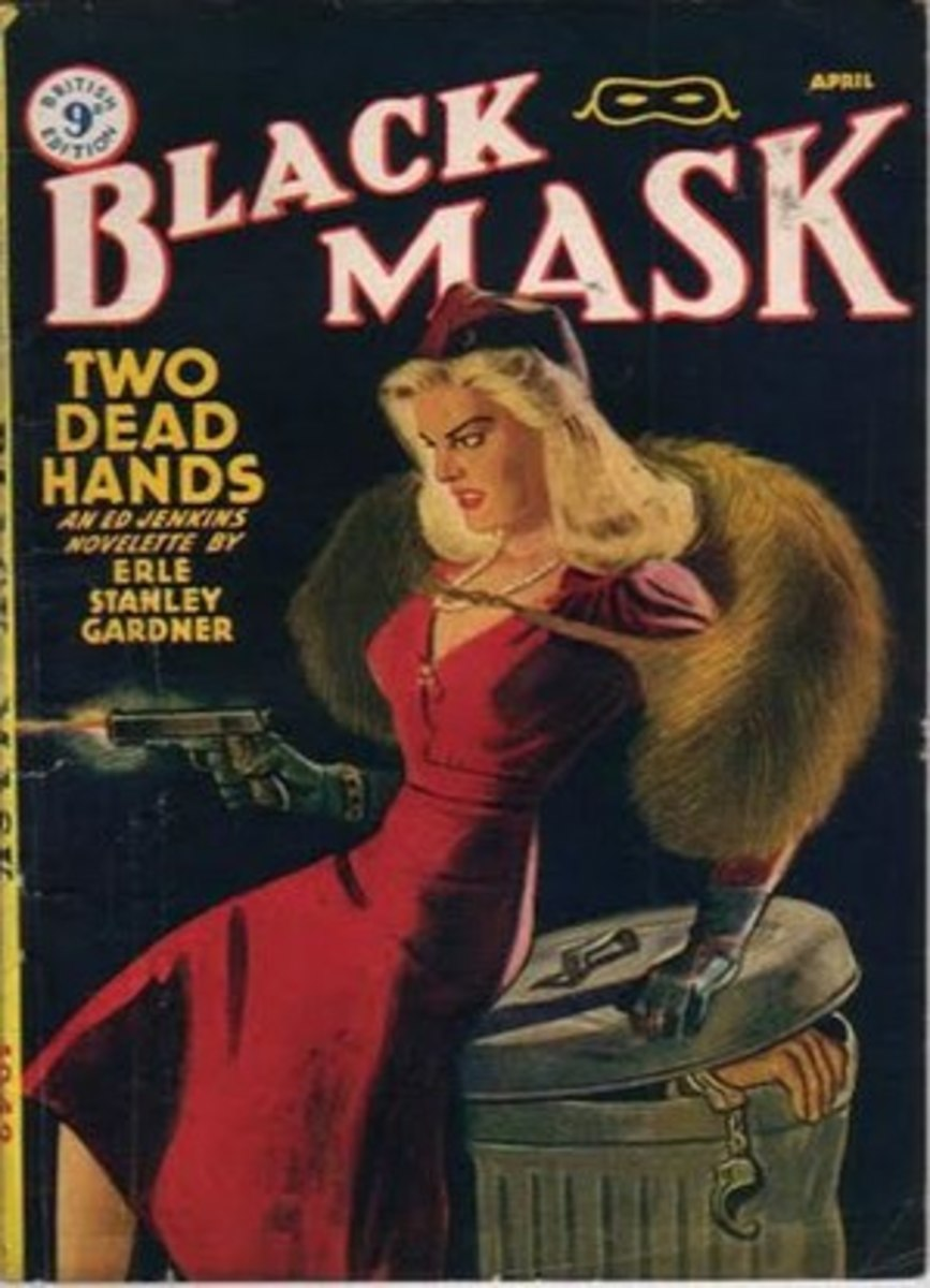 Erle Stanley Gardner in 'The Black Mask' Magazine