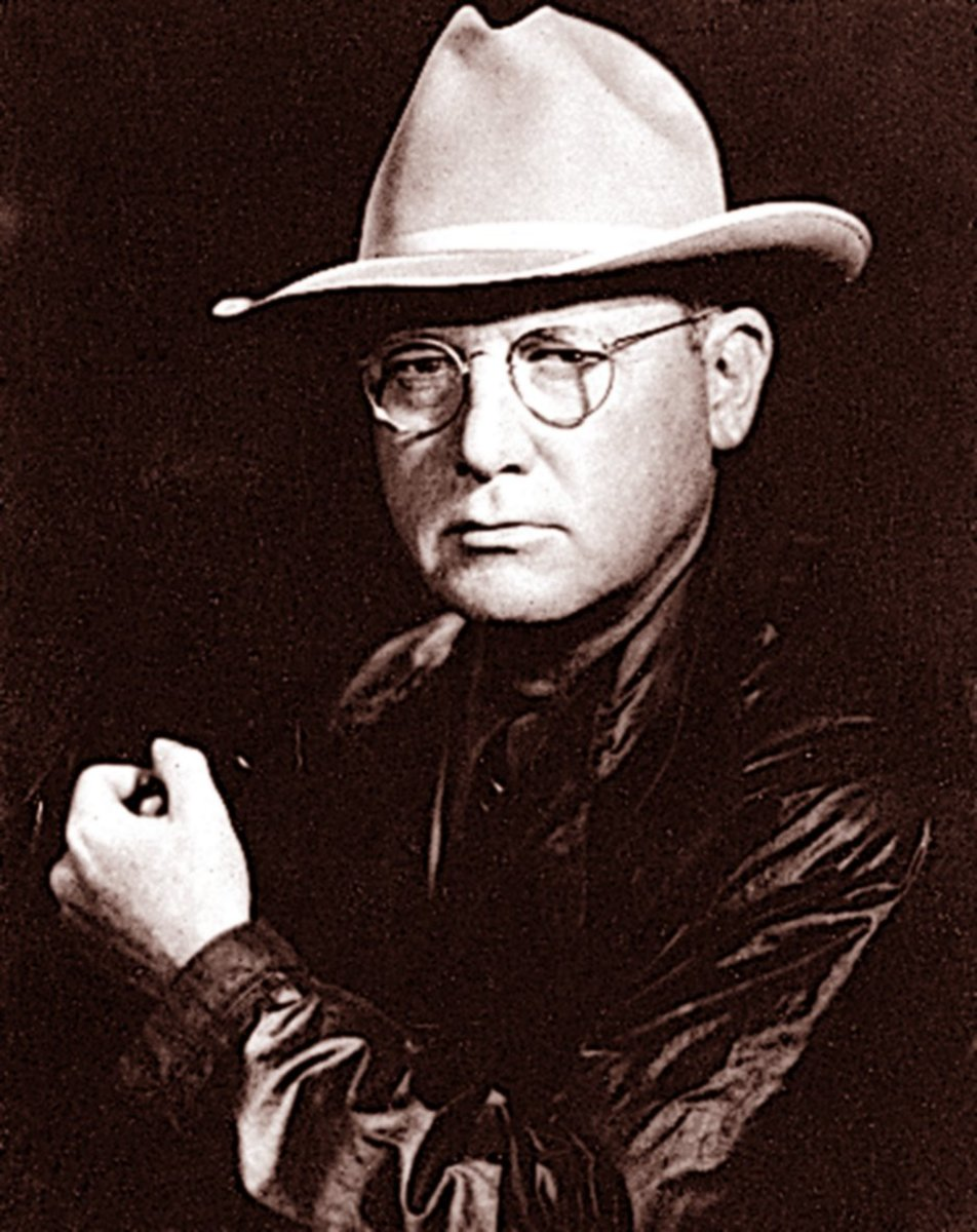 Erle Stanley Gardner (July 17, 1889 – March 11, 1970)