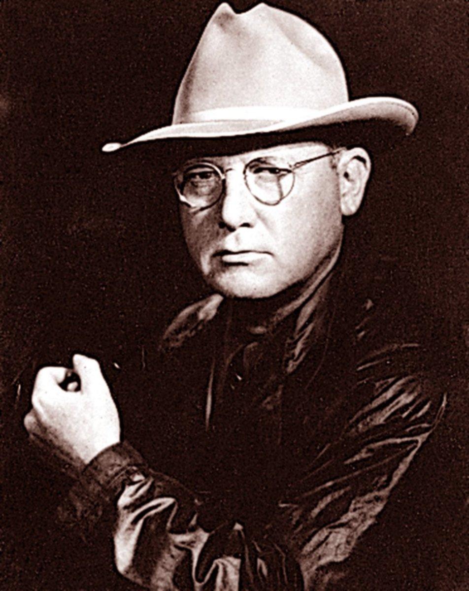 Erle Stanley Gardner (July 17, 1889 – March 11, 1970)