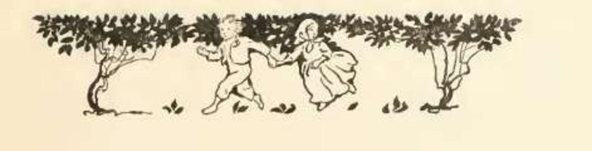 Vignette by Arthur Rackham