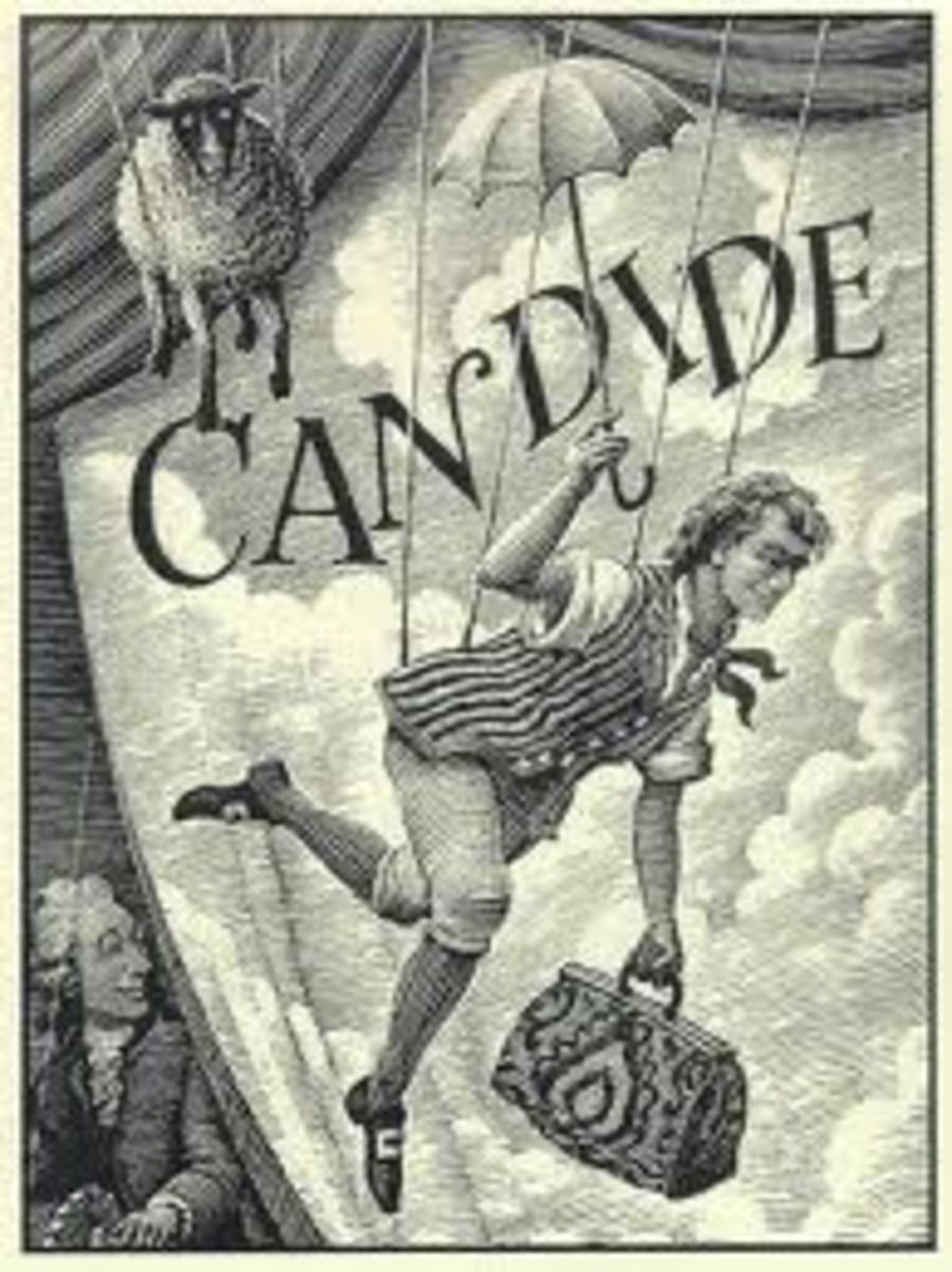 the writing techniques used in candide by voltaire Use this powerpoint to complete or review your notes on voltaire, satire, and the comedic techniques used in candide.