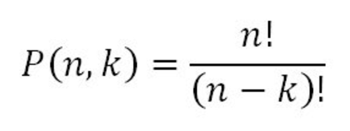 This is the formula for Permutations, where order is important.