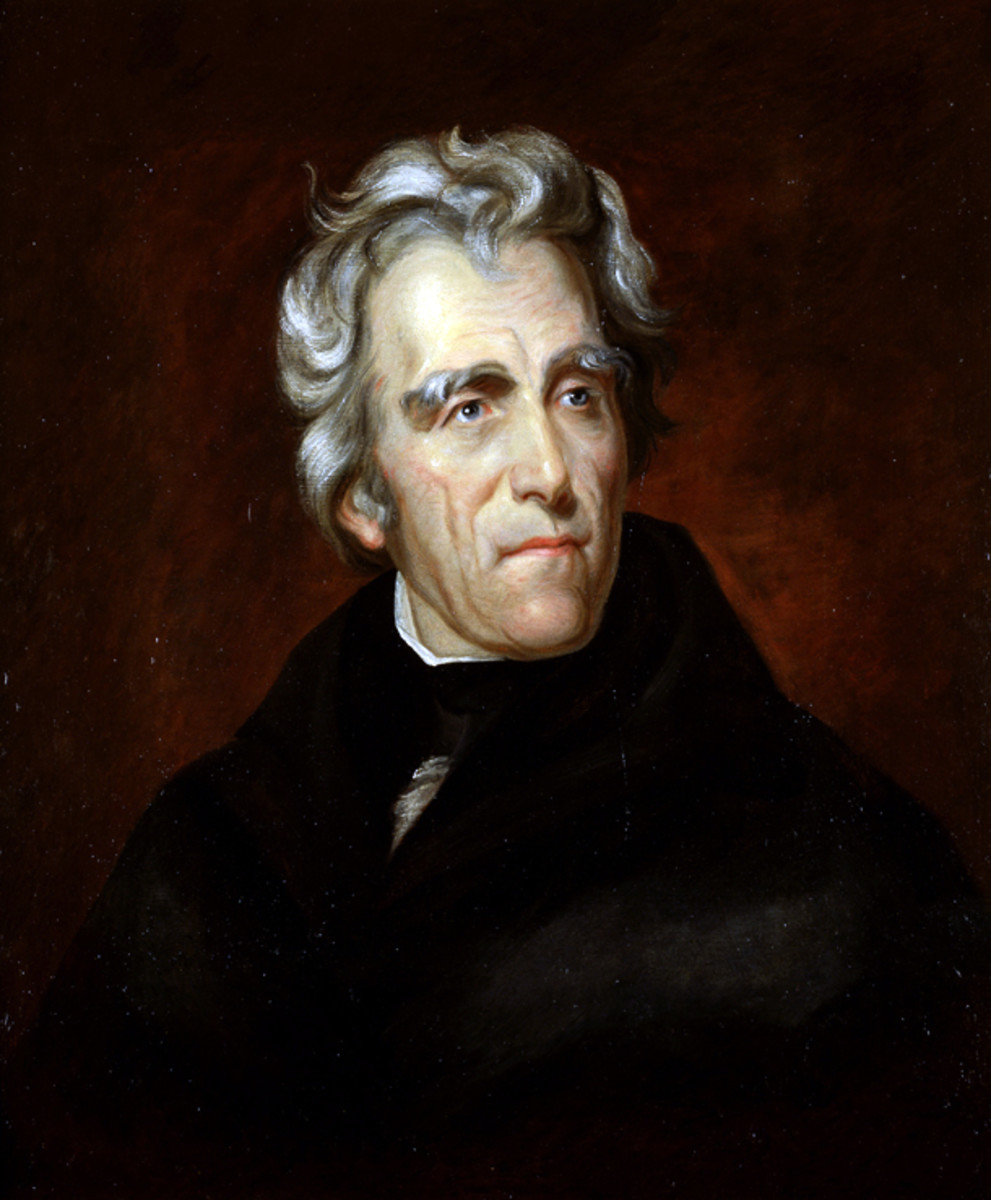 Portrait of Andrew Jackson, 7th President of the United States
