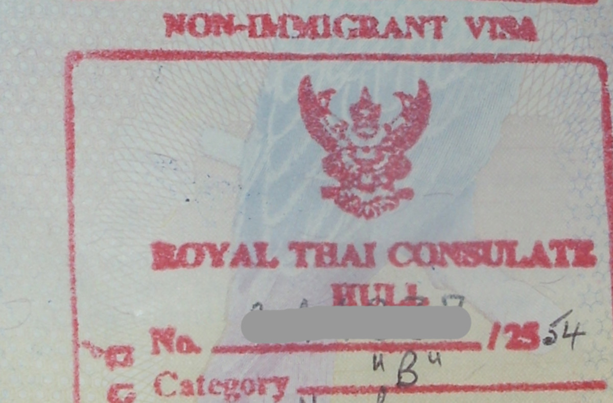 Thai non-Immigrant (B) visa