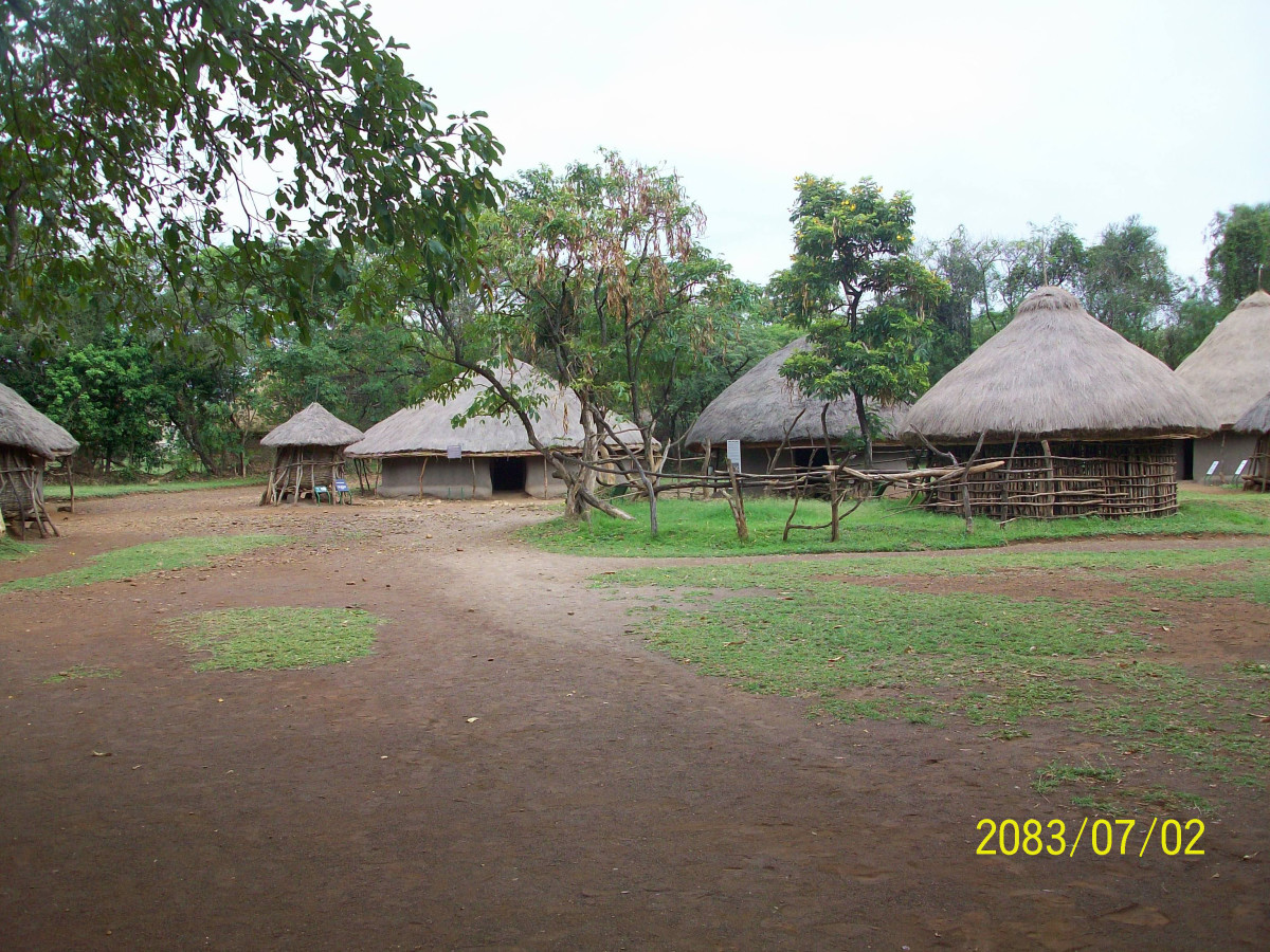 A Luo Homestead at the Kisumu Museum