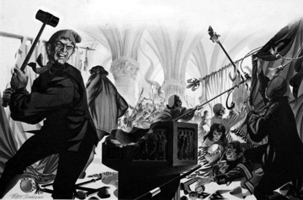 SMASHING UP CHURCHES IN THE FRENCH REVOLUTION
