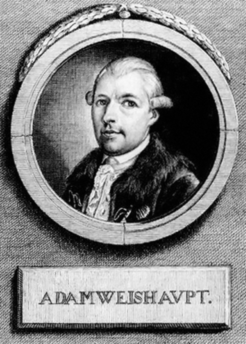 ADAM WEISHAUPT, THE FOUNDER OF THE ILLUMINATI