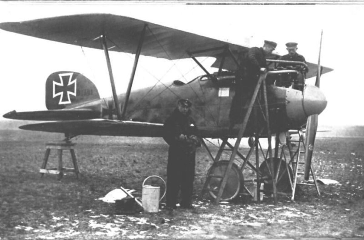 World War I: Albatros D.III, c. 1917