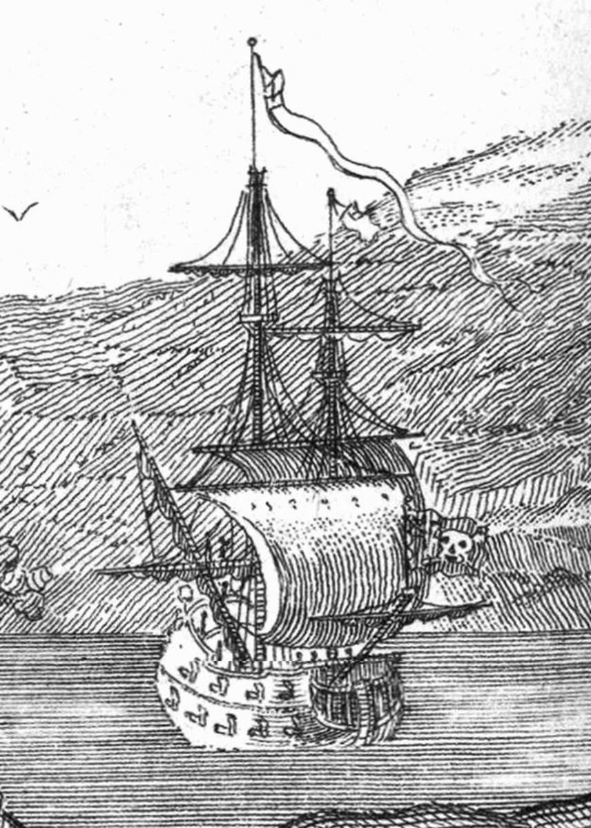 Queen Anne's Revenge was named due to his hostility of being used as a privateer during Queen Anne's War.