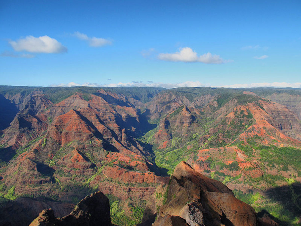 Waimea Canyon at the Summit of Mount Wai'ale'ale