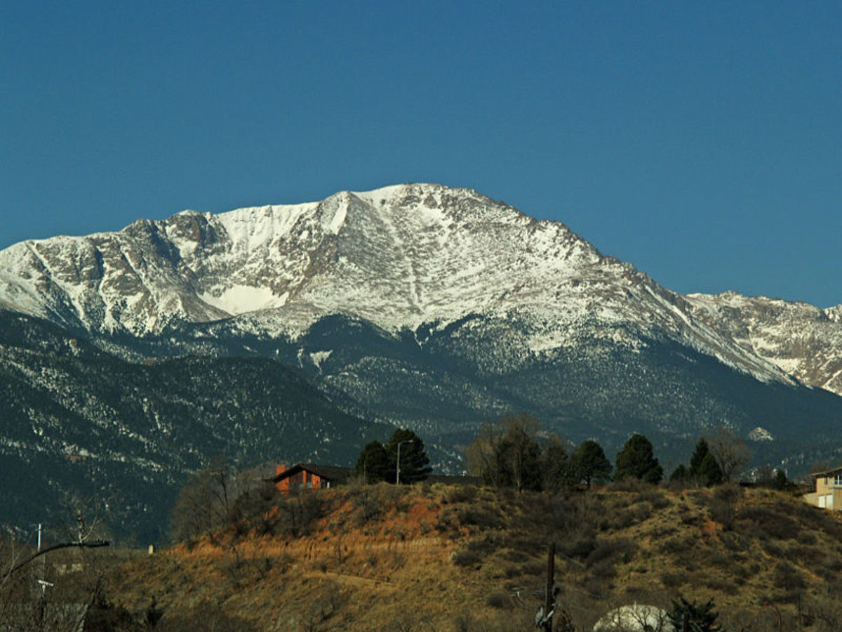 Pike's Peak Colorado