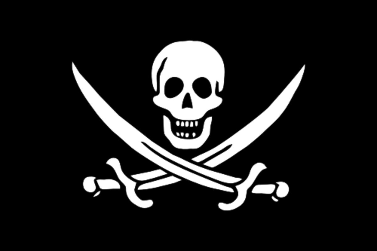 """""""Calico Jack"""" Rackham's Flag"""