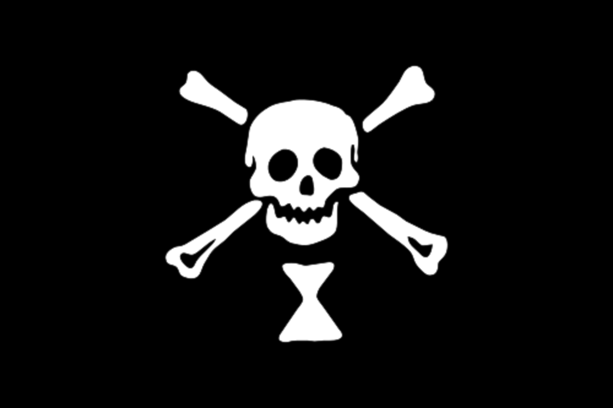 Emanuel Wynn's flag is often credited as the first to sport the now-classic skull and crossbones.