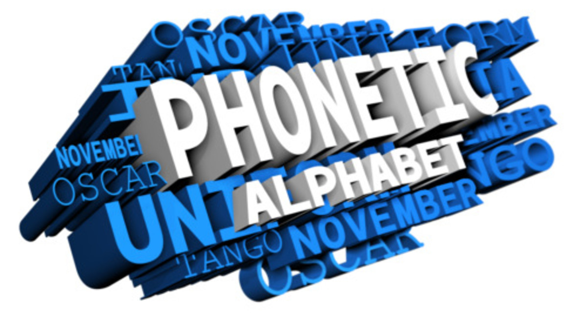 What Is the Phonetic Alphabet? | Owlcation