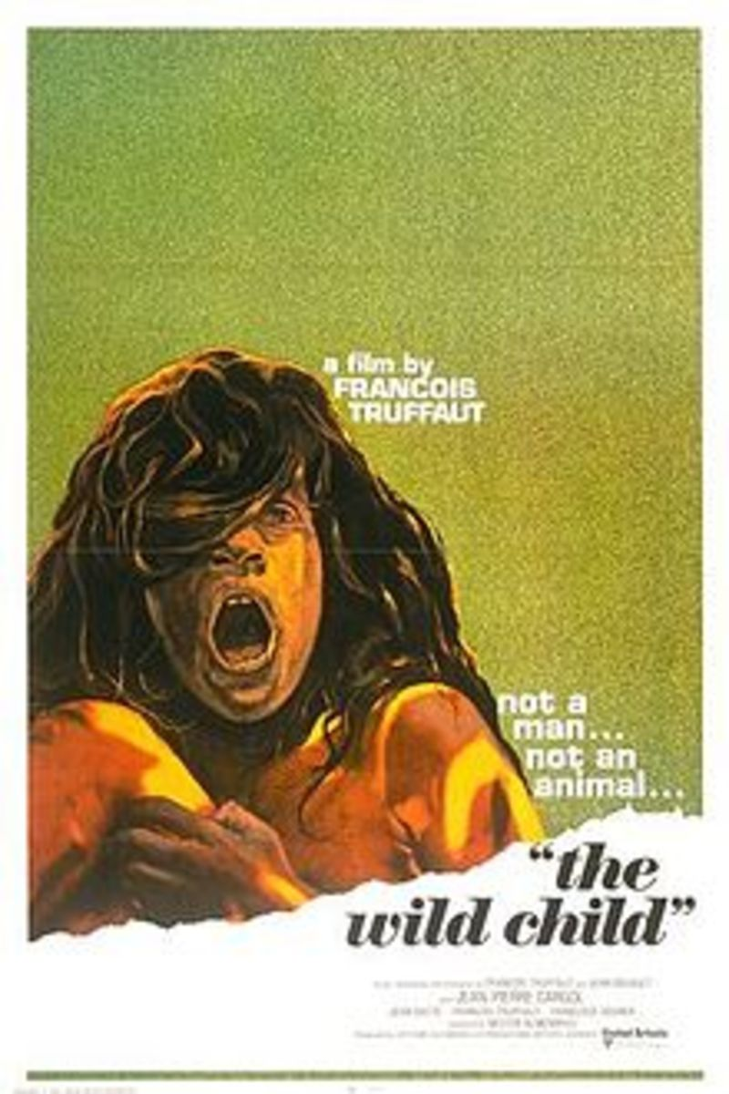 And this is Victor, as depicted in a 1970 French film called 'The Wild Child'.