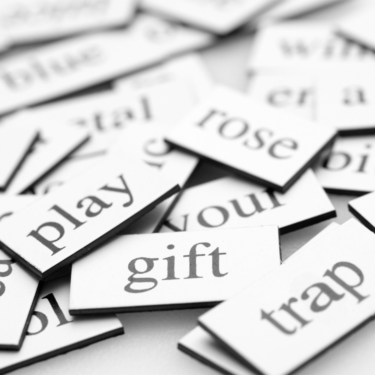 Magnetic poetry is a great addition to your classroom decor.  Students come up with wonderful short poems and leave them for everyone to discover.