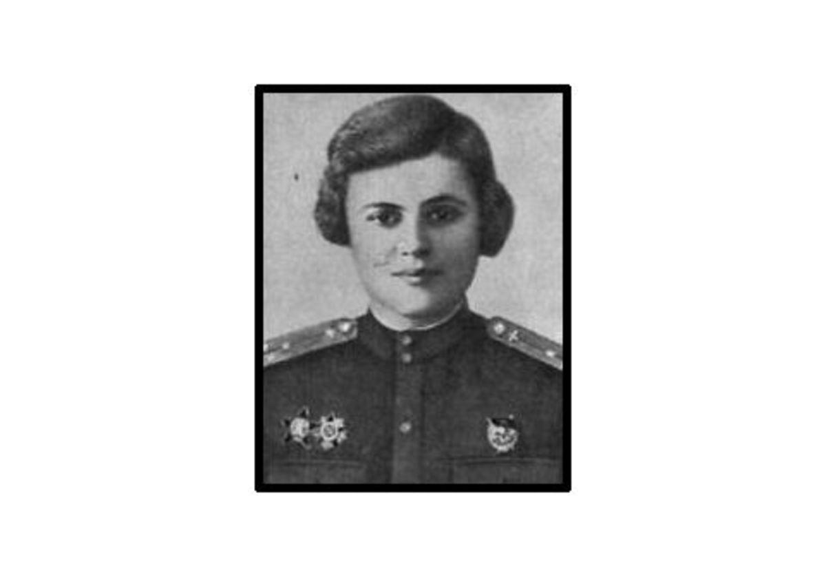 "WWII: Evgeniya Rudneva, navigator in the ""Night Witches"". KIA."
