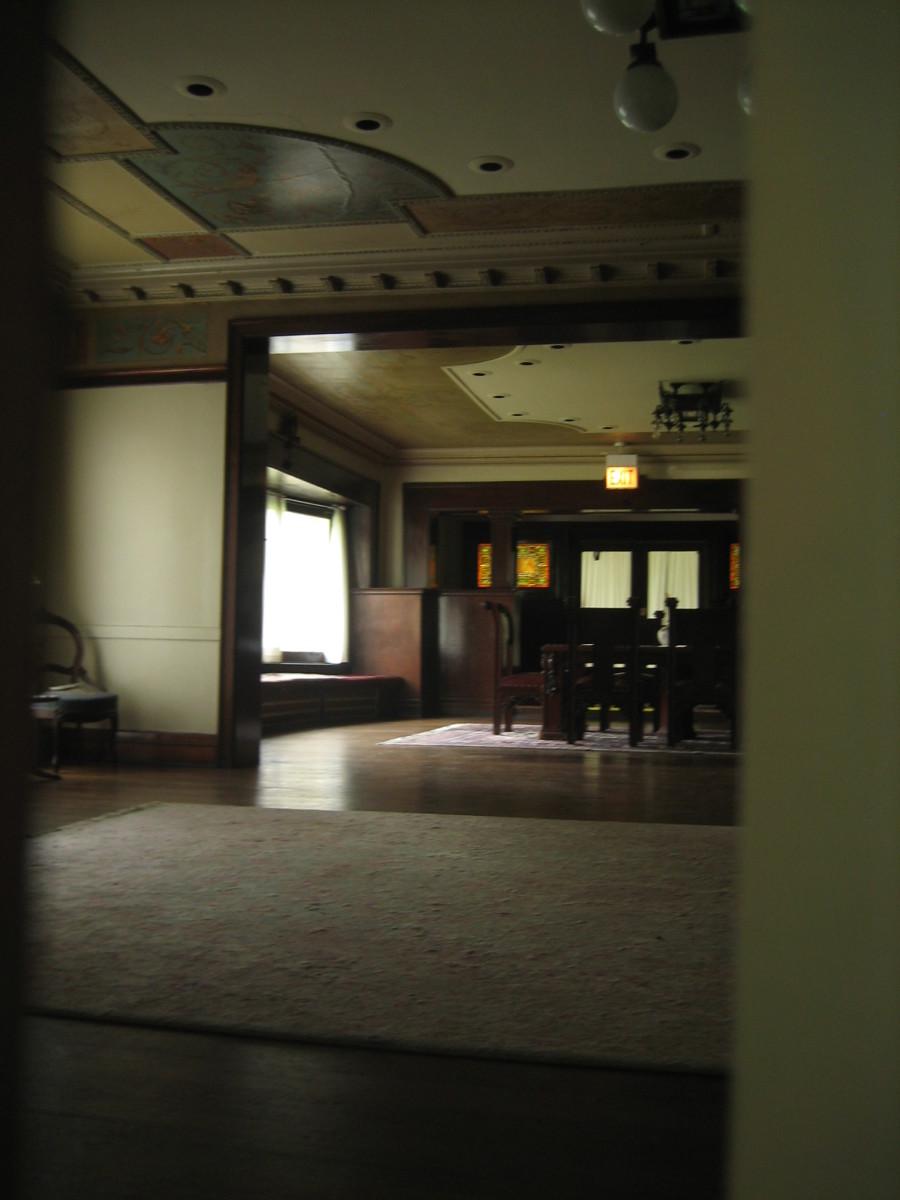 Interior of Pleasant Home.