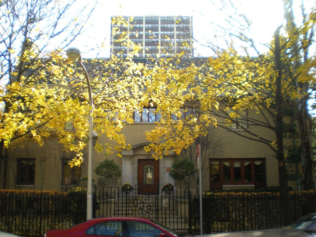 The Grace Brackebush House (1909) at 839 W. Hutchinson St.