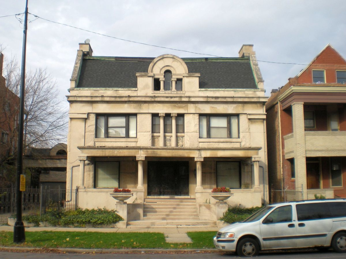 The King-Nash House (1901) at 3234 W. Washington Blvd. on the West Side, near Garfield Park.