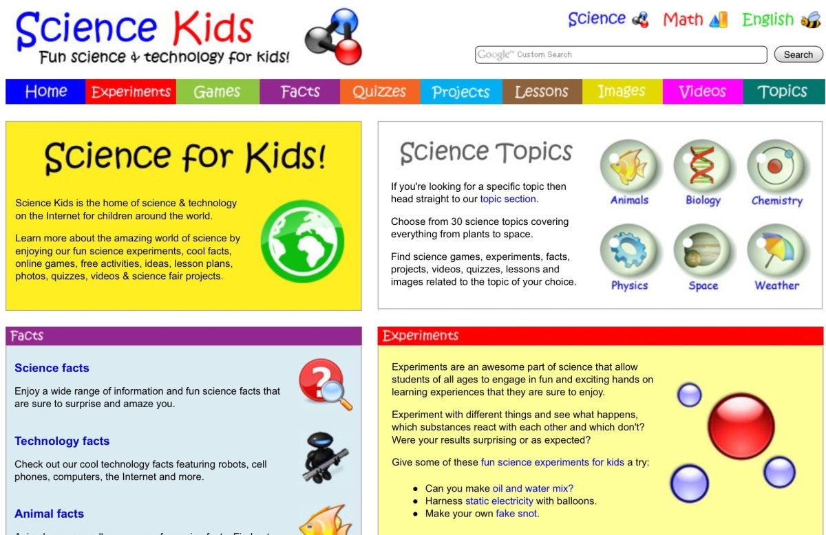 Science Kids screenshot