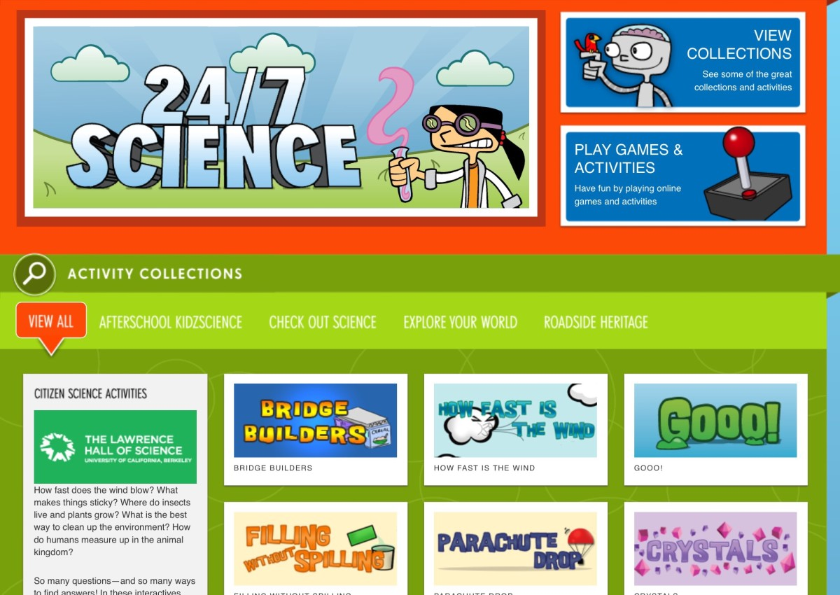 Lawrence Hall of Science 24/7 screenshot