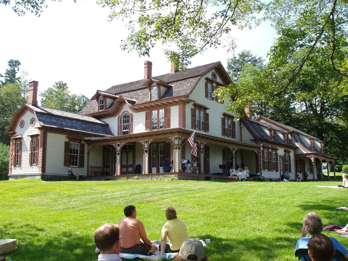 William Cullen Bryant Homestead in Massachusetts.