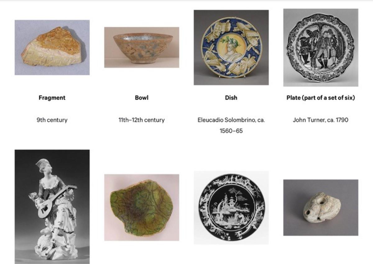 Ceramics on the Metropolitan Museum of Art website