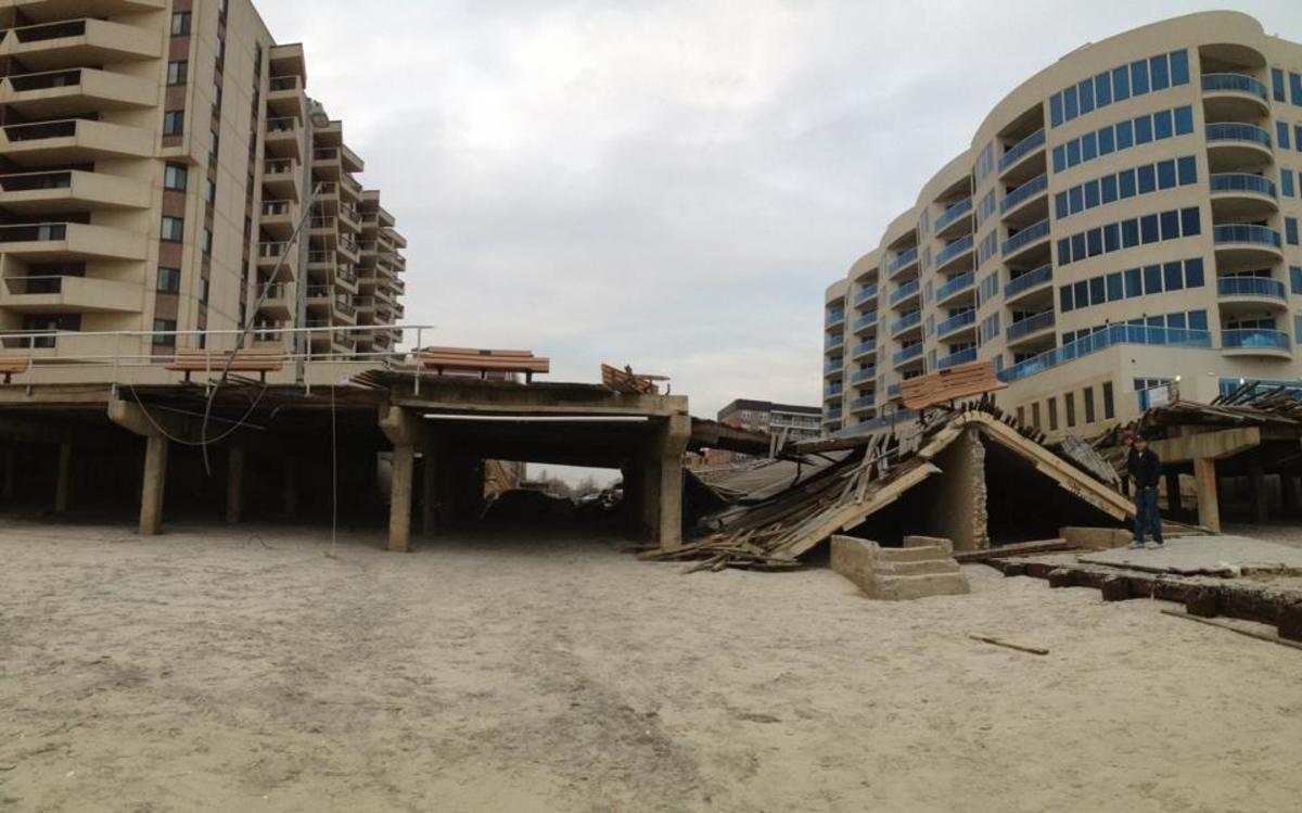 It will take years to rebuild the boardwalk at Long Beach.