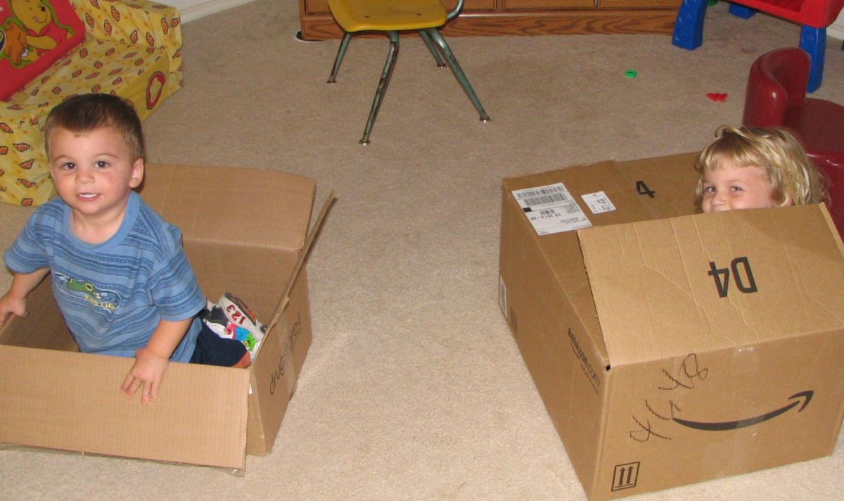 Sometimes you need to move the storage boxes out of your home to keep pests out of them.