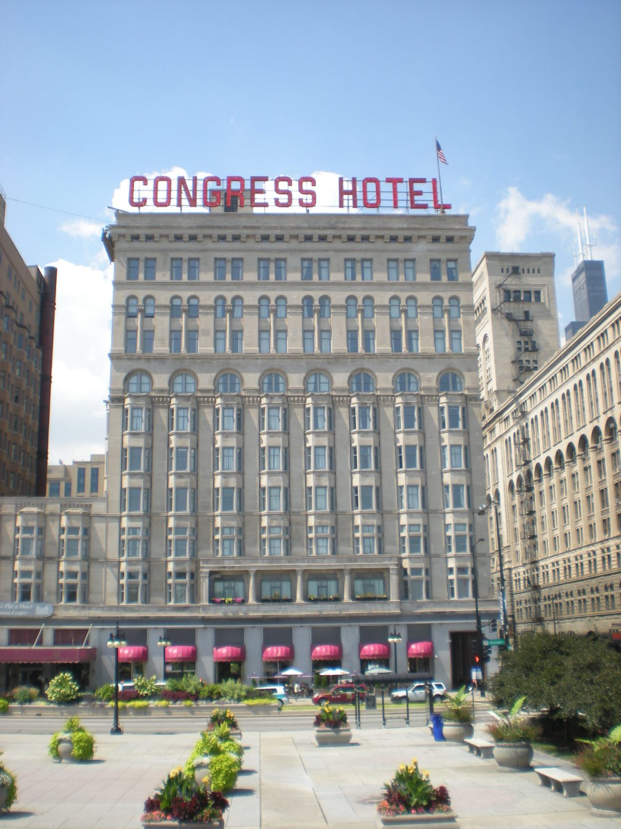 Congress Hotel as it appears today.